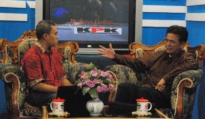 Wawancara Bersama Bersama Wakil Ketua KPK, Chandra M Hamzah, 26 April 2011